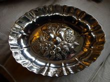 White Star Line Silver Oval Fruit Dish